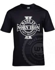 Made in Norn Iron - Norn irish born and bred - Black