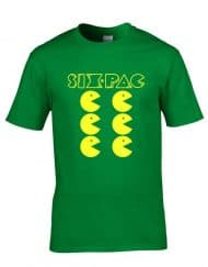 Six Pac - Funny Gaming Mens T-Shirt