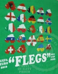 """Flegs"" - Mens T-Shirt"