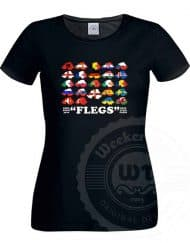"""Flegs"" - Womens T-Shirt"