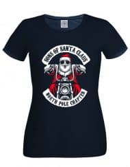 Sons Of Santa Ladies BLACK