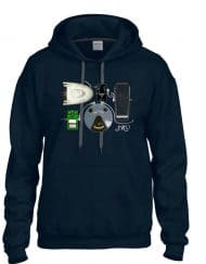 Stevie Ray pedals inspired hoodie