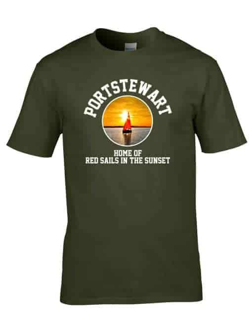 Home Of The Red Sails Milt Green Mens