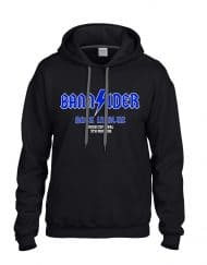 Bannsider Back In Blue Hoodie Black